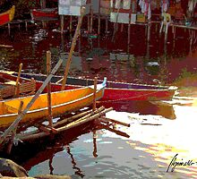 Life On Stilts 3 by Angelo Aguinaldo