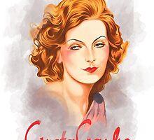 Greta Garbo by MissClaraBow