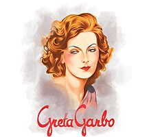 Greta Garbo Photographic Print