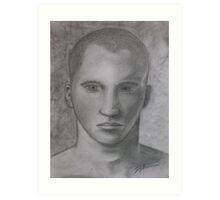 Male Model Art Print