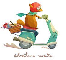 Adventure Awaits by brennal
