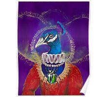 Princess Peacock Poster