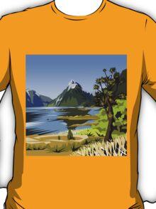 Mitre Peak, NZ T-Shirt