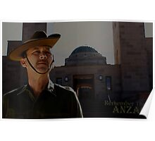 Remember The ANZAC - 1 Poster