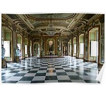 Hall of Ambassadors, Queluz National Palace Poster