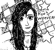 Ryn Weaver Cartoon by SYTIDelRey