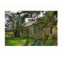 All Saints Church - Hawnby #3 Art Print