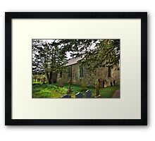 All Saints Church - Hawnby #3 Framed Print