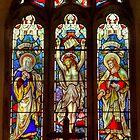 Window-All Saints Church-Hawnby by Trevor Kersley