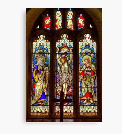 Window-All Saints Church-Hawnby Canvas Print
