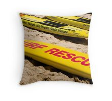 Rescue board Throw Pillow