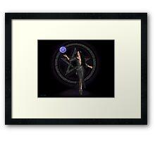 Dark Sorceress Framed Print