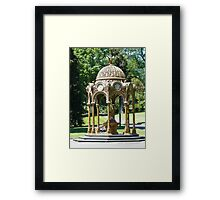 Childrens drinking fountain in City Park, Launceston Tasmania Framed Print