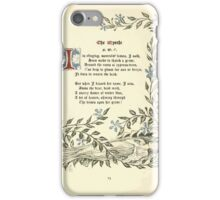 The Old Garden and Other Verses by Margaret Deland and Wade Campbell, Illustrated by Walter Crane 1894 53 - The Myrtle iPhone Case/Skin