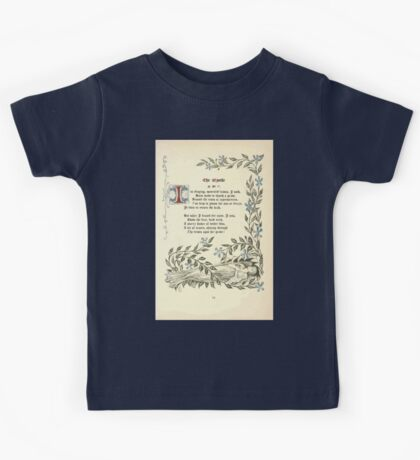 The Old Garden and Other Verses by Margaret Deland and Wade Campbell, Illustrated by Walter Crane 1894 53 - The Myrtle Kids Tee
