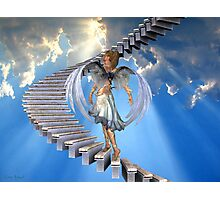 Angels .. Stairway to heaven Photographic Print