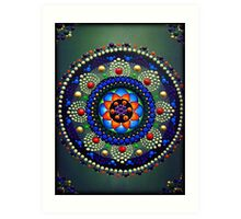 Lotus Blossom Mandala Art Print