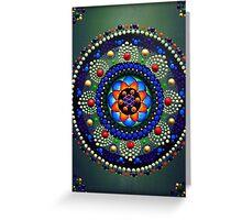 Lotus Blossom Mandala Greeting Card