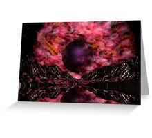 Asteroid Vally01 Greeting Card