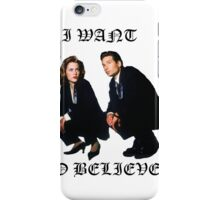 XFILES TECHNO REMIX iPhone Case/Skin