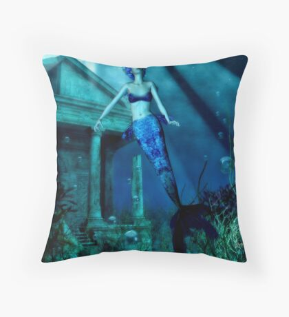 lost realms Throw Pillow