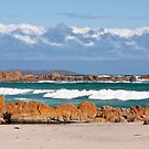 British Admiral Beach, King Island by Alex Howen