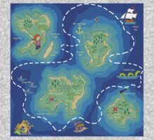 The Ultimate Pirate Treasure Map Kids Clothes
