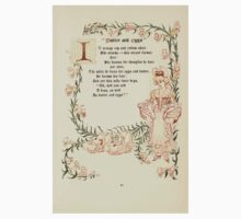 The Old Garden and Other Verses by Margaret Deland and Wade Campbell, Illustrated by Walter Crane 1894 49 - Butter and Eggs One Piece - Short Sleeve