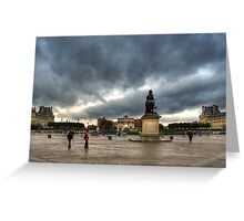 Place Du Carrousel Greeting Card