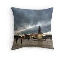 Place Du Carrousel Throw Pillow