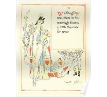 A Masque of Days - From the Last Essays of Elia 1901 illustrated by Walter Crane 18 - Wedding Day Poster