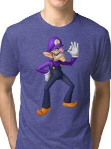 Waluigi Tri-blend T-Shirt