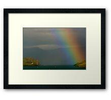 Rainbow in Kerry, Ireland  Framed Print