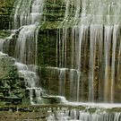 Base of Montour Falls in New YOrk by 1busymom