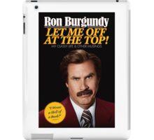 Anchorman - Ron Burgundy iPad Case/Skin