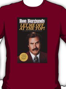 Anchorman - Ron Burgundy T-Shirt