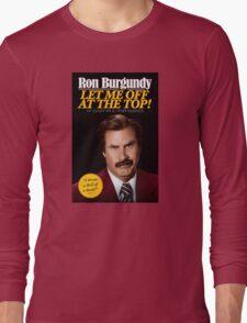 Anchorman - Ron Burgundy Long Sleeve T-Shirt
