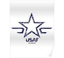 USAF - US Air Force  Poster