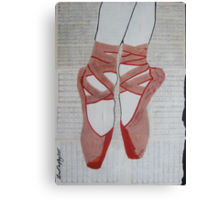 en pointe Canvas Print