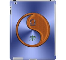 Libra & Goat Yin Wood iPad Case/Skin
