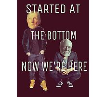 Started at the Bottom Photographic Print