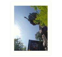 Star Tours Entrance AT-AT- Hollywood Studios Art Print