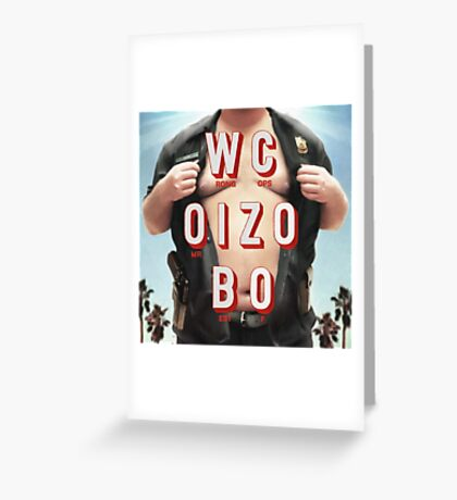 Mr. Oizo - Wrong Cops Greeting Card