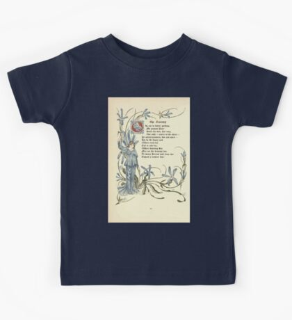 The Old Garden and Other Verses by Margaret Deland and Wade Campbell, Illustrated by Walter Crane 1894 48 - The Succorp Kids Tee