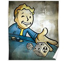 Fallout Casino Pipboy Poster
