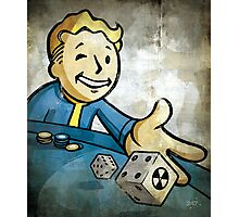 Fallout Casino Pipboy Photographic Print
