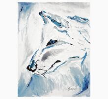 Winter Wolf - Animal Art by Valentina Miletic Kids Clothes