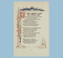 The Old Garden and Other Verses by Margaret Deland and Wade Campbell, Illustrated by Walter Crane 1894 232 - While Shepherds Watched Their Flocks at Night One Piece - Short Sleeve