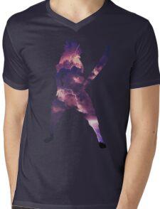 Lightning Element Mens V-Neck T-Shirt
