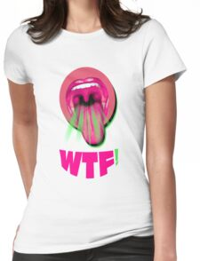 WTF?? Womens Fitted T-Shirt